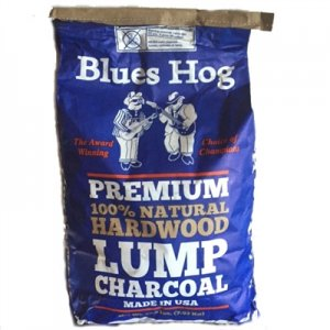 BLUES HOG PREMIUM NATURAL LUMP CHARCOAL 17.5 LB. BAG