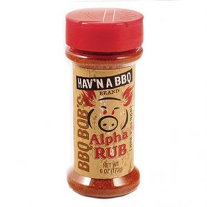BBQ Bob's Alpha Rub 6 OZ