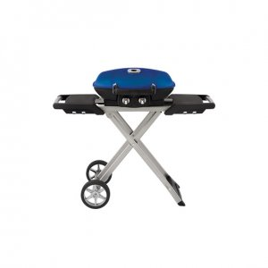 TravelQ™ 285 with Scissor Cart in Blue