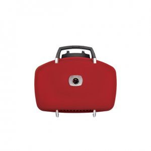TravelQ™ 285 Portable Gas Grill in Red