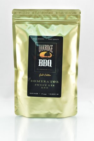 Dominator Sweet Rub 1lb