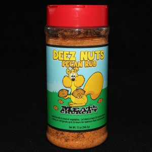 Deez Nuts Honey Pecan Rub 12oz
