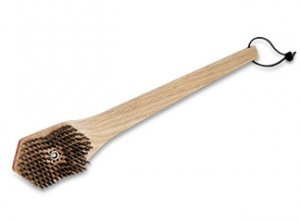 Bamboo Grill Brush w/Replaceable Head