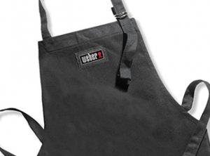 Barbecue Apron, black