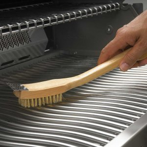 Grill Brush with Brass Bristles 18""