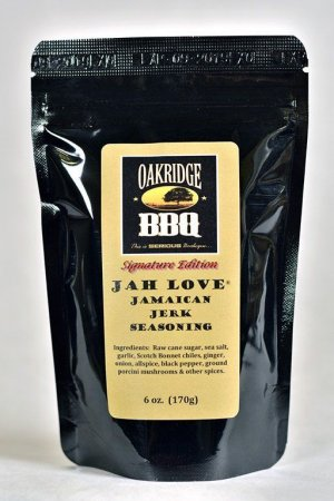 Jah Love Jamaican Jerk Seasoning 6oz