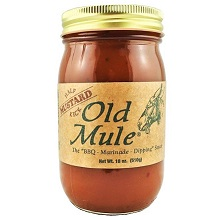 Old Mule Half Kick Mustard Based Sauce