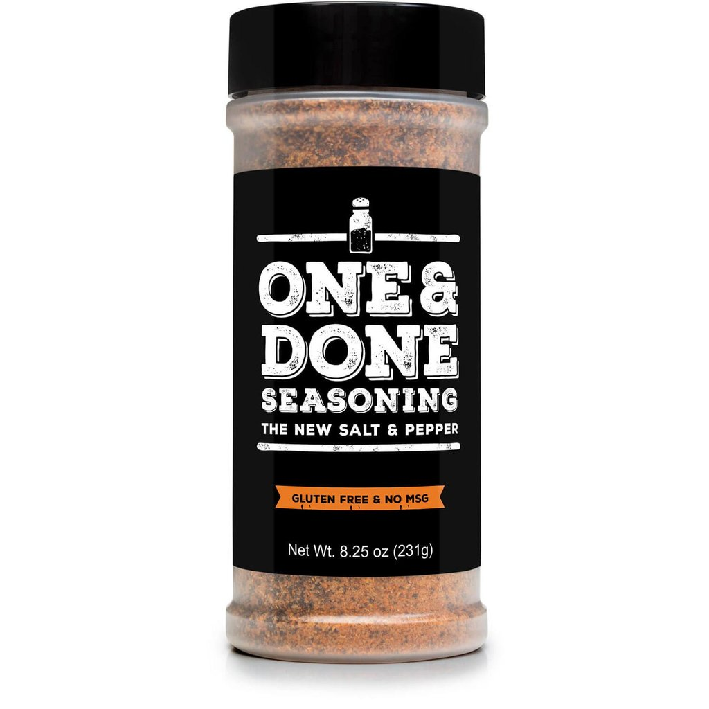 One Seasoning - One and Done Seasoning
