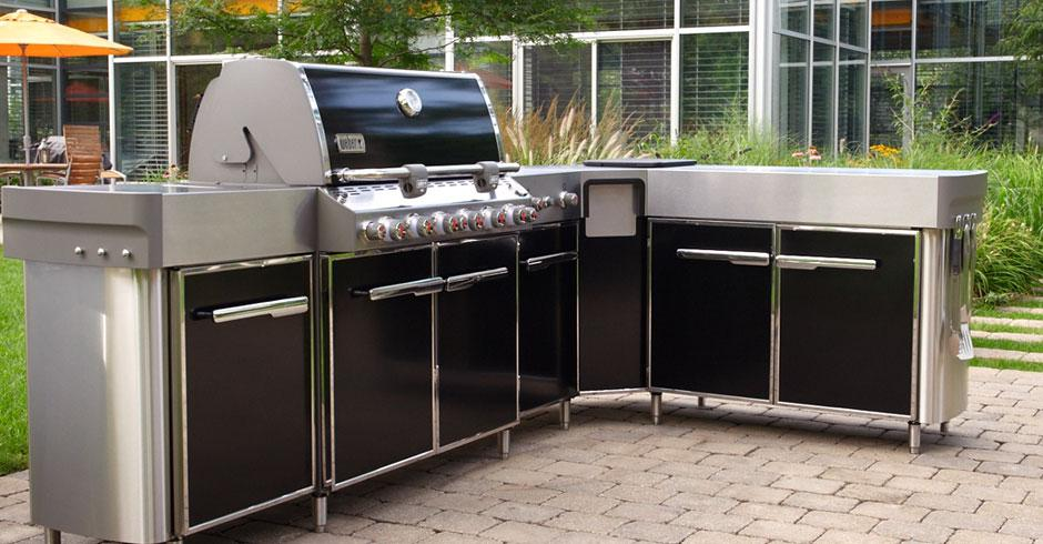 Weber Outdoor Kitchens : Barbecue Grills, Outdoor BBQ Grills ...