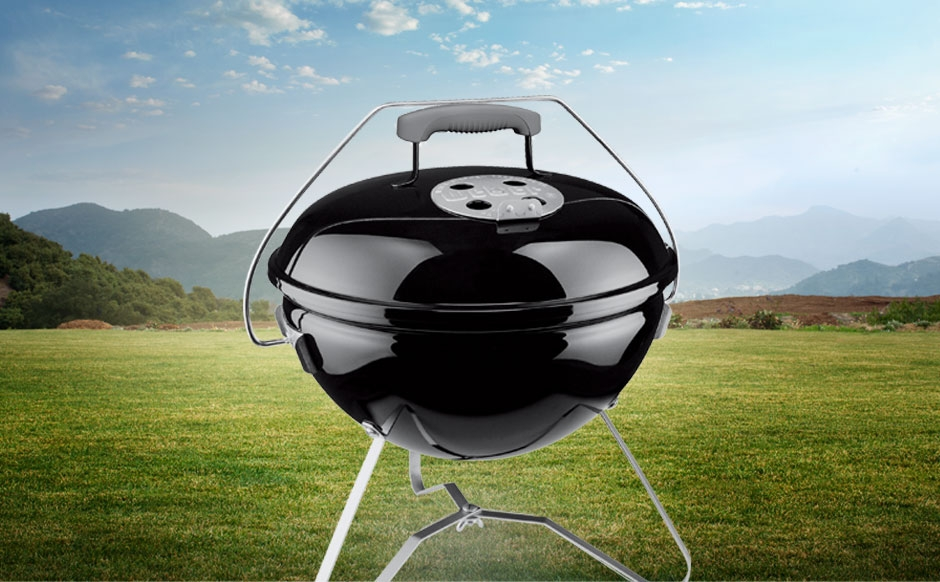 Weber Holzkohlegrill Smokey Joe : Weber smokey joe series barbecue grills outdoor bbq grills