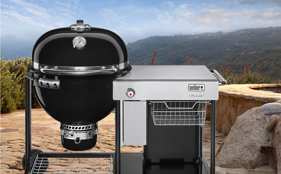 Weber Summit Charcoal Holzkohlegrill : Summit charcoal series barbecue grills outdoor bbq grills