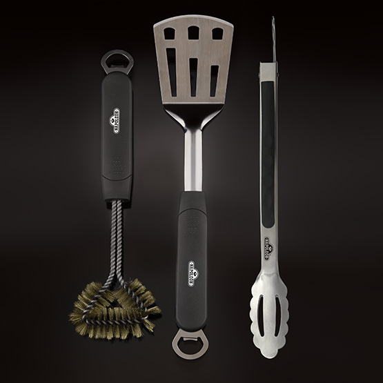 Napoleon Grilling Tools - 3 Piece Stainless Steel BBQ Tool Set
