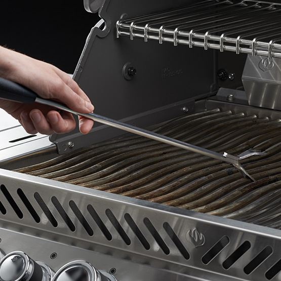Grill Maintenance - Stainless Steel Grid Scraper