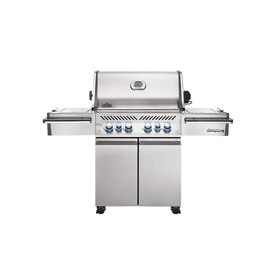 Napoleon Gas Grills - Prestige PRO 500 with Infrared Side and Rear Burners